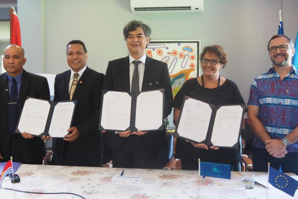 The EU and SPC launch 3 projects