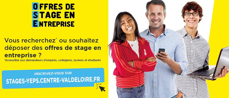 Offre de stage en entreprise - Inscrivez-vous sur centre-valdeloire.stagedecouverte.fr