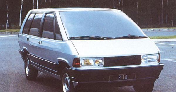 Projet P18 avec optiques avant de Peugeot 604