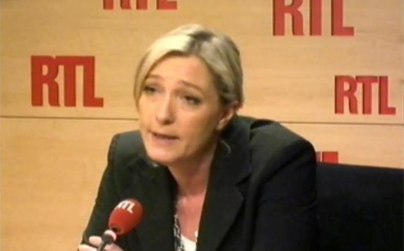 La présidente du Front National, Marine Le pen, sur RTL le 1er mars 2011