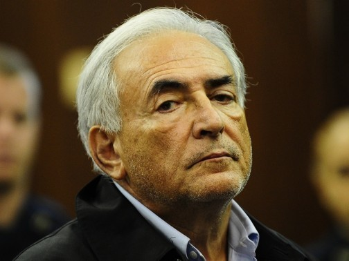 Dominique Strauss-Kahn au tribunal, le 16 mai. Les accusations portées contre le directeur du FMI, qui a été placé en détention provisoire, sont passibles de 74 ans de prison.