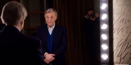 DIAPORAMA - Quand Salvatore Adamo se balade à Paris avec Nikos Aliagas
