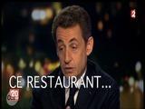 Sarkozy et le Fouquet's ... les regrets ont du mal à sortir