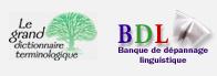 Page du GDT et de la BDL