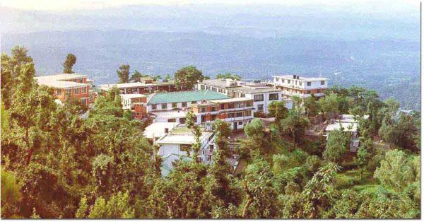 Men-Tsee-Khang in Dharamsala, India