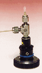 Room Temperature Cell Mounted on a Goniometer Head