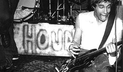 Dave Gregg of Vancouver punk band DOA in 1981. Photo by Bev Davies.