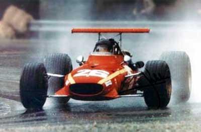 Ferrari 312 de la saison 1968 de Formule 1