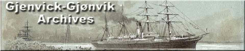 Gjenvick-Gjonvik Archives Website - Link to Homepage