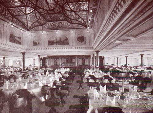 Dining Saloon on the Adriatic