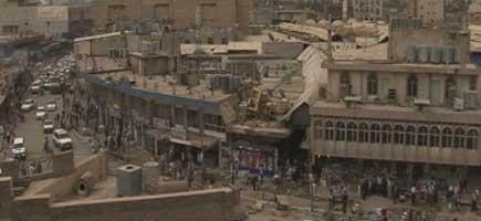 Middle east urban sprawl