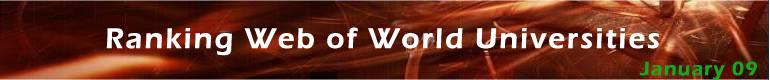 World Universities' ranking on the Web