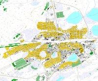 Карта Барабинска