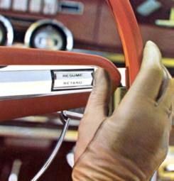Image: 1966 Thunderbird Highway Pilot Control