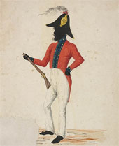 Aborigine Piper who accompanied Mitchell on his expeditions