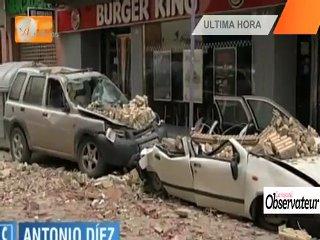 Les images du séisme en Espagne