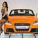 audi babes with tts roadster
