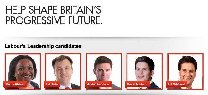 Help shape Britain's progressive future.