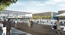 What makes Airport City so special is not only its excellent business prospects and quality location, but also its exceptional regional and international transport connections. A 4-star hotel, an office and service complex, a rental car centre as well as four multi-storey car parks with a capacity for over 10,000 cars are to be built in time for the opening.