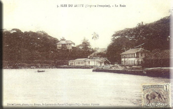 La rade de l'ile Royale