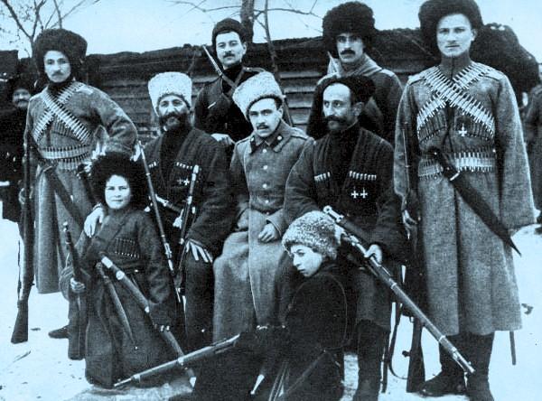 Cosaques des armées blanches (1918-1920)