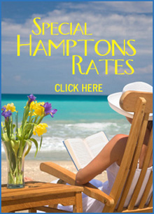 Call us For Special Hamptons Rates!