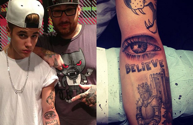 A Psychoanalysis of Justin Bieber and His New Tattoo