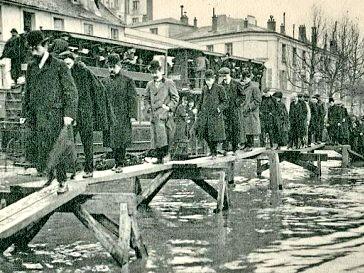 Paris sous les eaux