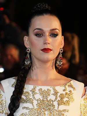 Katy Perry was left red faced after she was asked to start her performance again [Wenn]