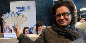 Sochi 2014 Ticket Centres open in Sochi and Moscow