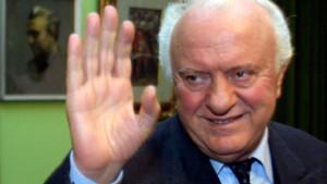 Edouard Chevardnadzé, en 2003