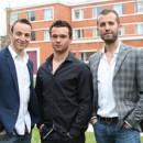 Julien Schipman, Andy Marc et Adrien Sedeaud