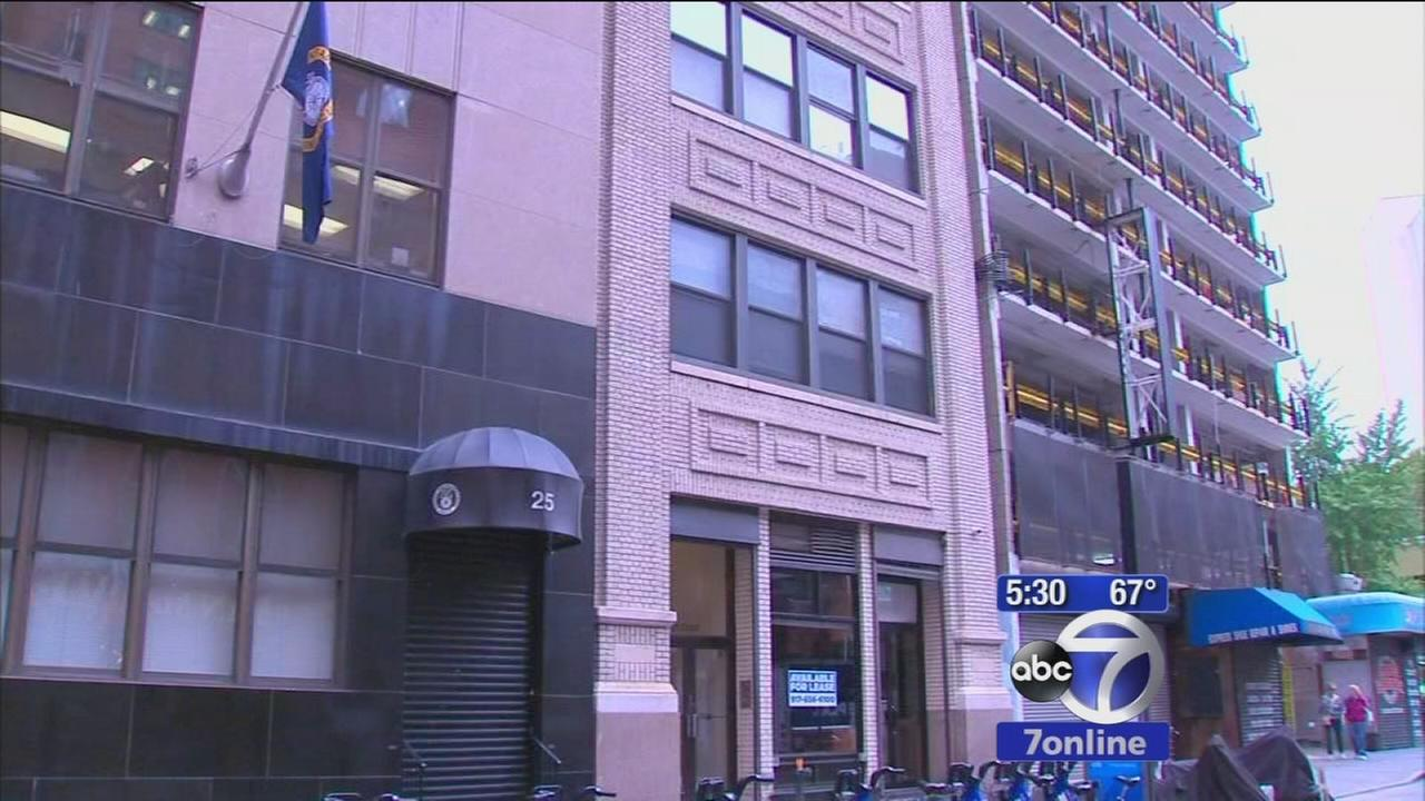 Building in Financial District being used as sex club