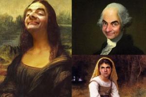Quand Mr Bean s'incruste dans des chefs-d'oeuvre
