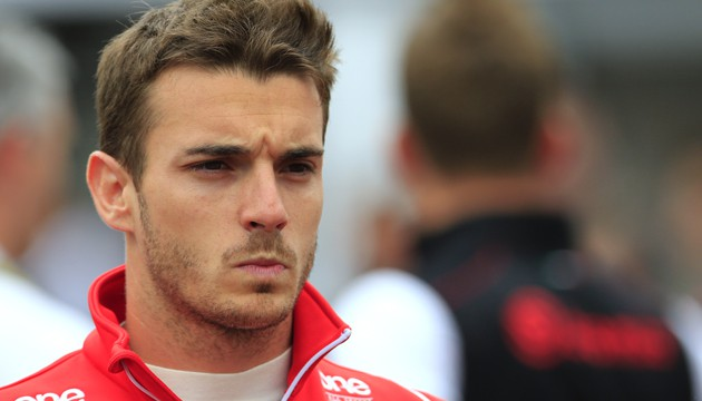 Jules Bianchi a été victime d'un grave accident lors du Grand Prix de Suzuka, le 5 octobre 2014 (A. KLEIN/AFP).