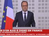 """Crash d'un Airbus A320 à Digne : """"Il n'y aurait aucun survivant"""""""