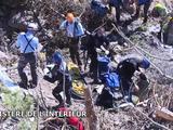 Crash de l'A320 : les premières images tournées au sol