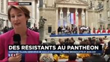 Entrée au Panthéon : la ministre de l'Education a ouvert la cérémonie