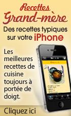 Recettes de Grand-mères pour Iphone!