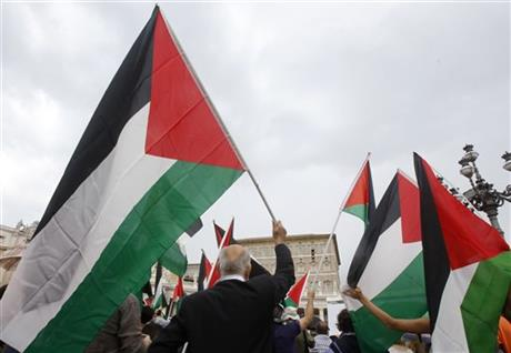 United Nations-Palestinians-Flag