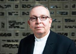 MgrHector Fabio Henao Gaviria, directeur de la Caritas Colombie, participe aux négociations entre le gouvernement colombien et les Farc qui doivent s'achever le 23mars à LaHavane.