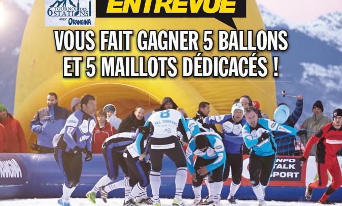 Tournoi des six stations Orangina : gagnez 10 ballons de rugby dédicacés !