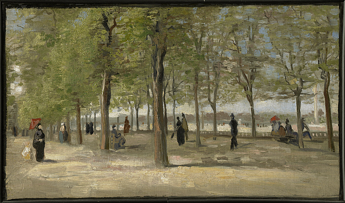 Terrace in the Luxembourg Gardens