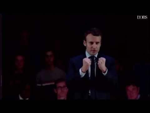 """Macron : """"L'art français, je ne l'ai jamais vu"""""""