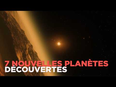"""La Nasa découvre 7 nouvelles """"Terres"""", abritant peut-être la vie"""