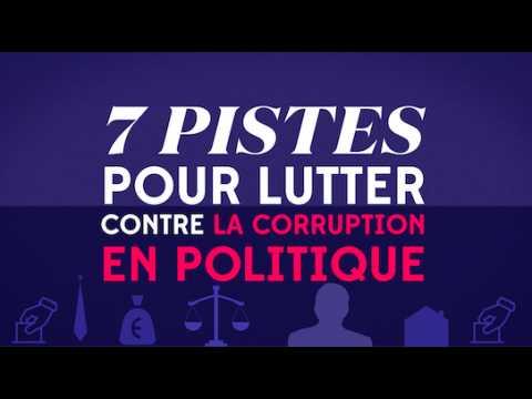 7 pistes pour lutter contre la corruption en politique