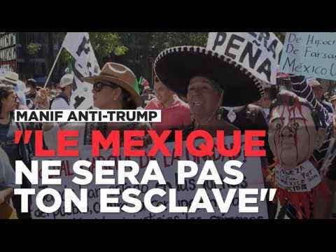 Mexique : des milliers de personnes unies contre Donald Trump