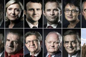 Les portraits détaillés des candidats à l'élection présidentielle 2017