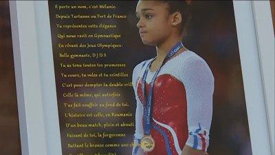 Gymnastique : portrait de Mélanie De Jesus Dos Santos, championne formée à Saint-Etienne