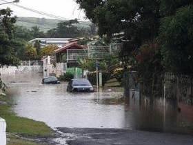 En images : les rivières débordent